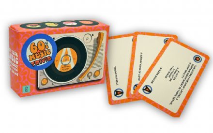 1960's Music Trivia Card Game